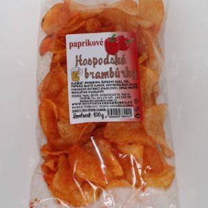 Hospodské brambůrky paprikové 100g